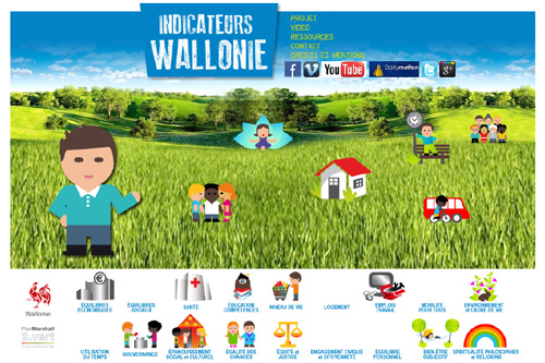 Indicateurs Wallonie