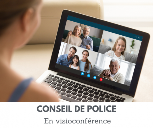 Conseil de police en direct