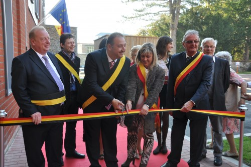 Inauguration du home Petit Gobert
